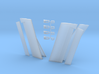 1/144 Scale Boeing 747-8 Trailing Edge Flaps And C 3d printed