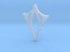 Venus pendant - engraved 3d printed