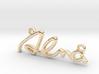 ALMA Script First Name Pendant 3d printed