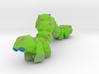 Akira (the Caterpillar) 3d printed
