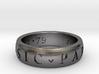 Sir Francis Drake, Sic Parvis Magna Ring Size 8.5 3d printed
