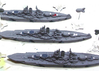 USS Mississippi 1/1800 3d printed Expertly painted by scottieevil