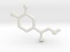 Molecules - Adrenaline 3d printed