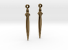 Earrings of bronze sword c.1200BCE 3d printed