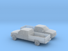 1/160 2X 1994 Chevrolet Silverado Ext. Cab Lon 3d printed