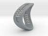 Beauty Ogham Ring 3d printed