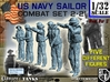 1-32 US Navy Sailors Combat SET 2-21 3d printed
