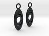 Drop earrings 3d printed