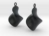 Chips earrings 3d printed