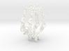 Baroque Hoops 3d printed