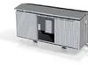 1:76 / 009 TPT guards van (fourgon) 3d printed