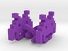 8-bit Space Invaders Links 3d printed