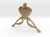 LOVE Birds Symbol Customizable Initial Monogram  3d printed