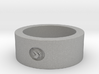 Hitchhikers Guide to the Galaxy  Homing Thumb Ring 3d printed