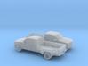 1/160 2X  1994 Chevrolet Silverado Ext Dually 3d printed