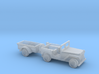 1/110 Scale MB Jeep And Trailer 3d printed