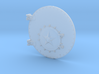 Soviet L Class Steam Locomotive Smokebox Door 3d printed