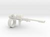 1:18 rail gun 3d printed