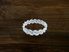 Turk's Head Knot Ring 3 Part X 16 Bight - Size 26. 3d printed
