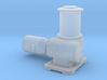 O Scale Capstan Rail Car Puller 3d printed