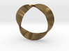 Mobius Strip three twists 3d printed