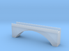 Single Arch Single Track 60mm Bridge 3d printed