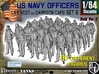 1-64 USN Officers KAPOK Set6 3d printed