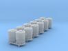 SET 6x Dzkr 501 Behälter (Roco) (N 1:160) 3d printed