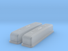 1/43 Buick Nailhead Weiand Valve Covers 3d printed