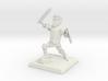 Cartoon fantasy knight 3d printed
