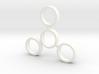 The Treg - Fidget Spinner - EDC 3d printed
