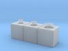 400 Gallon Ship Tank Set of 3 3d printed