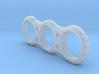 Hand EDC fidget Spinner Project Mk.I 90mm V2 3d printed