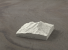 3'' Mt. Shasta, California, USA, Sandstone 3d printed Radiance rendering of model, viewed from the SSE