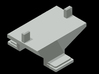 Container mount for Roco/Fleischmann N scale wagon 3d printed