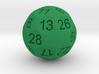 D28 Sphere Dice 3d printed