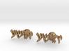 "Hebrew Name Cufflinks - ""Yehoshua"" 3d printed"