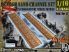 1-16 British Sand Channel Two Types 3d printed