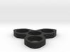 The Turbine Fidget Spinner Toy 3d printed