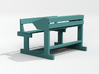 Bange (Albanian school desk) - 1:200 3d printed Preview