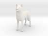 1/24 or G scale Siberian Husky Male Standing 3d printed