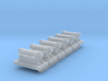 440 Volt Ground Hook Up Box 1-87 HO Scale (6 Pack) 3d printed