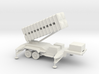 1/200 Scale Patriot Missile Launcher Trailer 3d printed