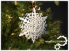Royal Christmas Snowflake 3d printed