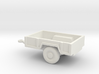 1/144 Scale M-101 Trailer 3d printed
