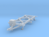 Chassis HO-scale 3d printed