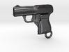 Schwarzlose Gun 1909 Keychain 3d printed