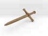 Dagger Pendant 3d printed