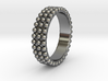 Ring with ball 3d printed