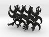 Miniature Minimalist Alien Chess Set 3d printed